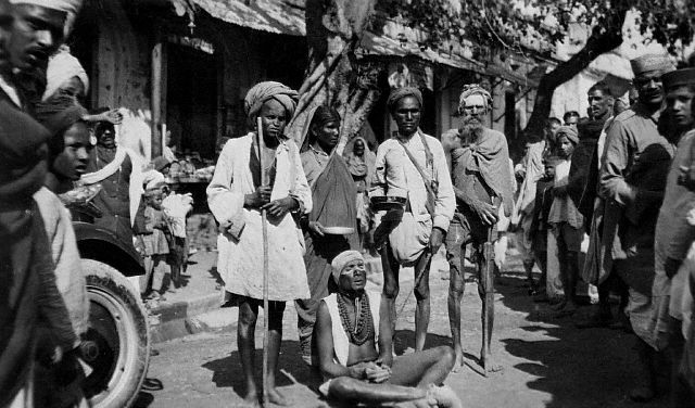 Indian Beggars 1940