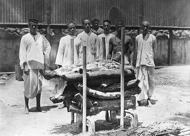 Hindu Funeral 1922