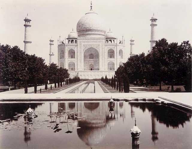 The Taj Mahal Circa 1890