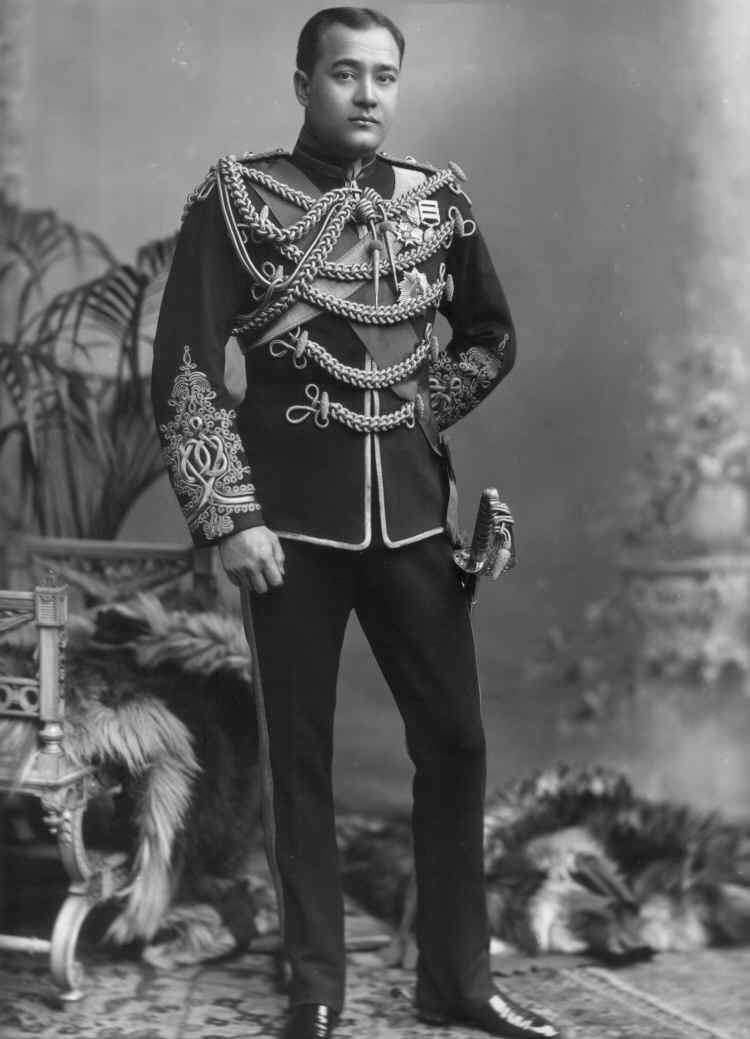 Shri Sir Nripendra Narayan, Maharaja of Cooch Behar in 1902
