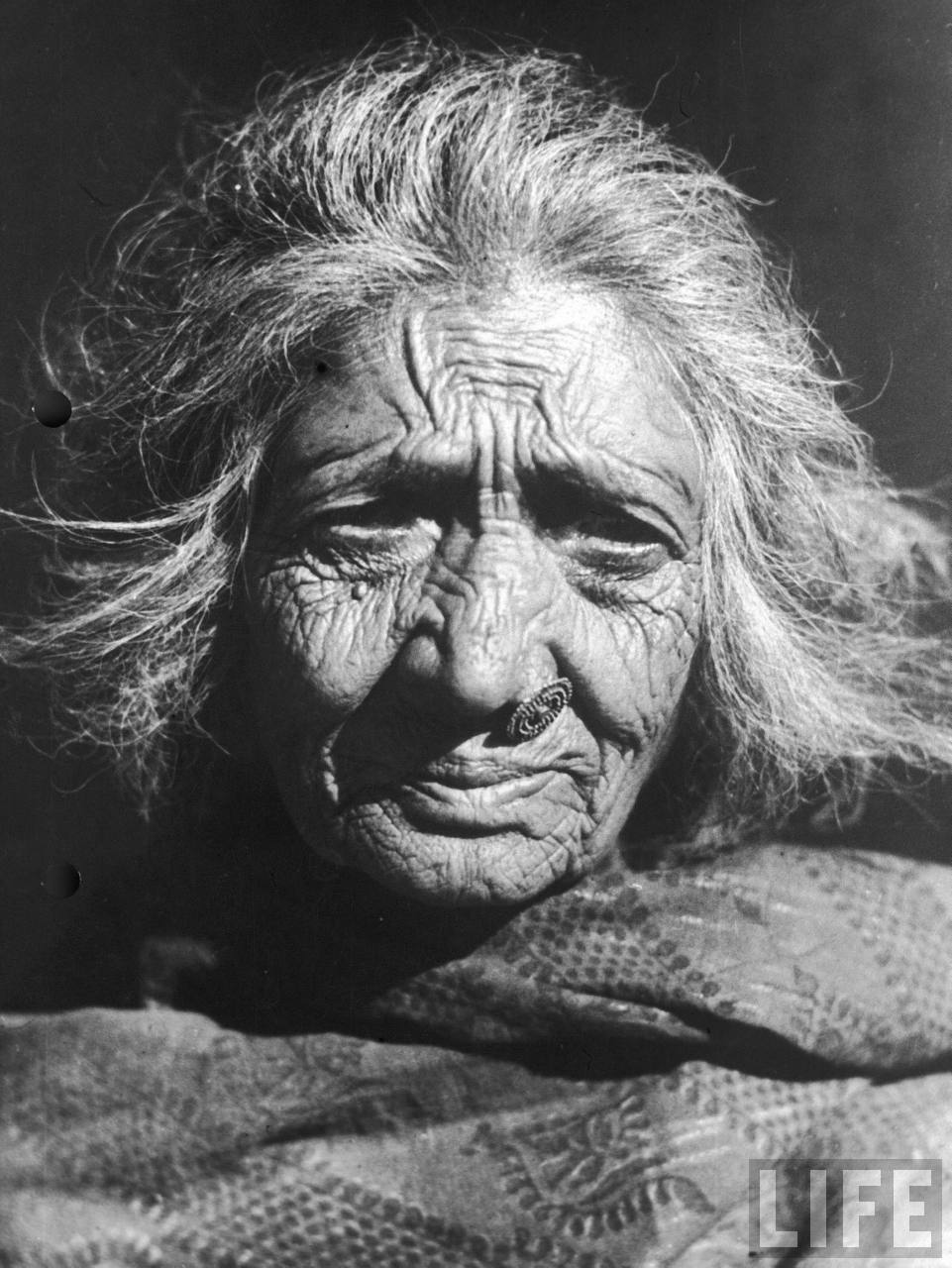Nepalese woman in 1940