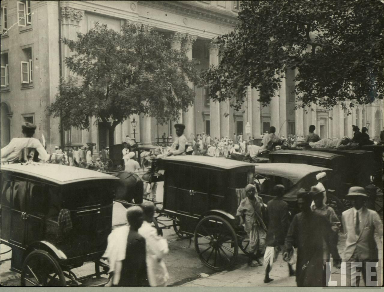 Horse Carts Calcutta Kolkata