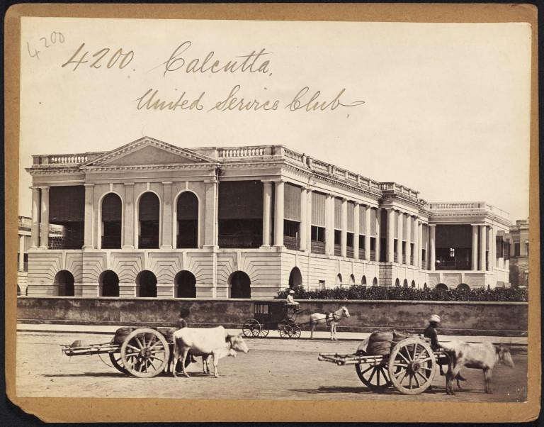 United Service Club Calcutta (Kolkata)