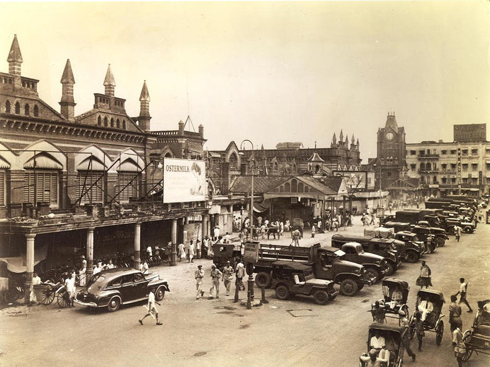 New Market Calcutta 1945