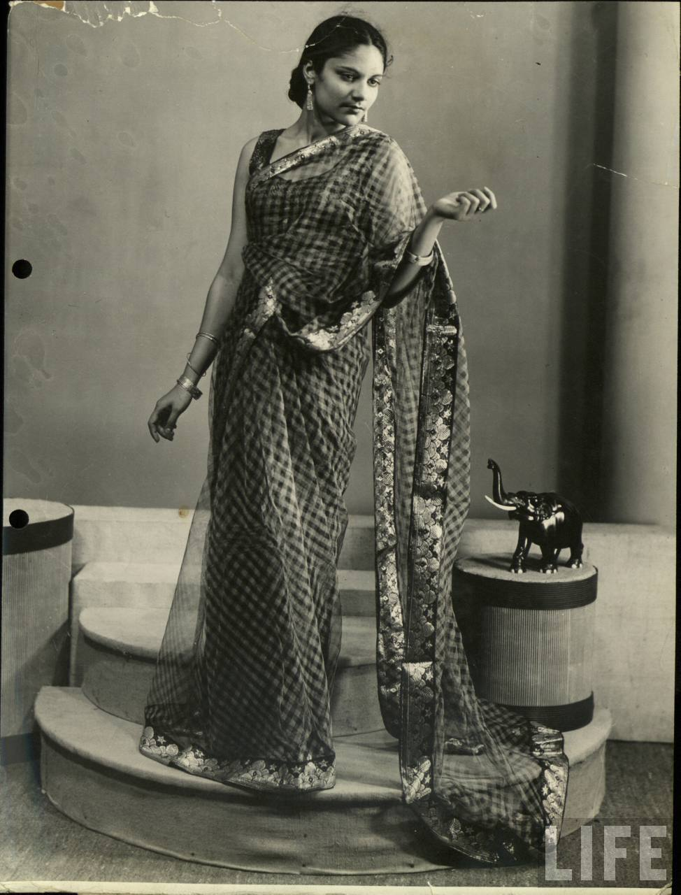 Studio Photograph of an Indian Model