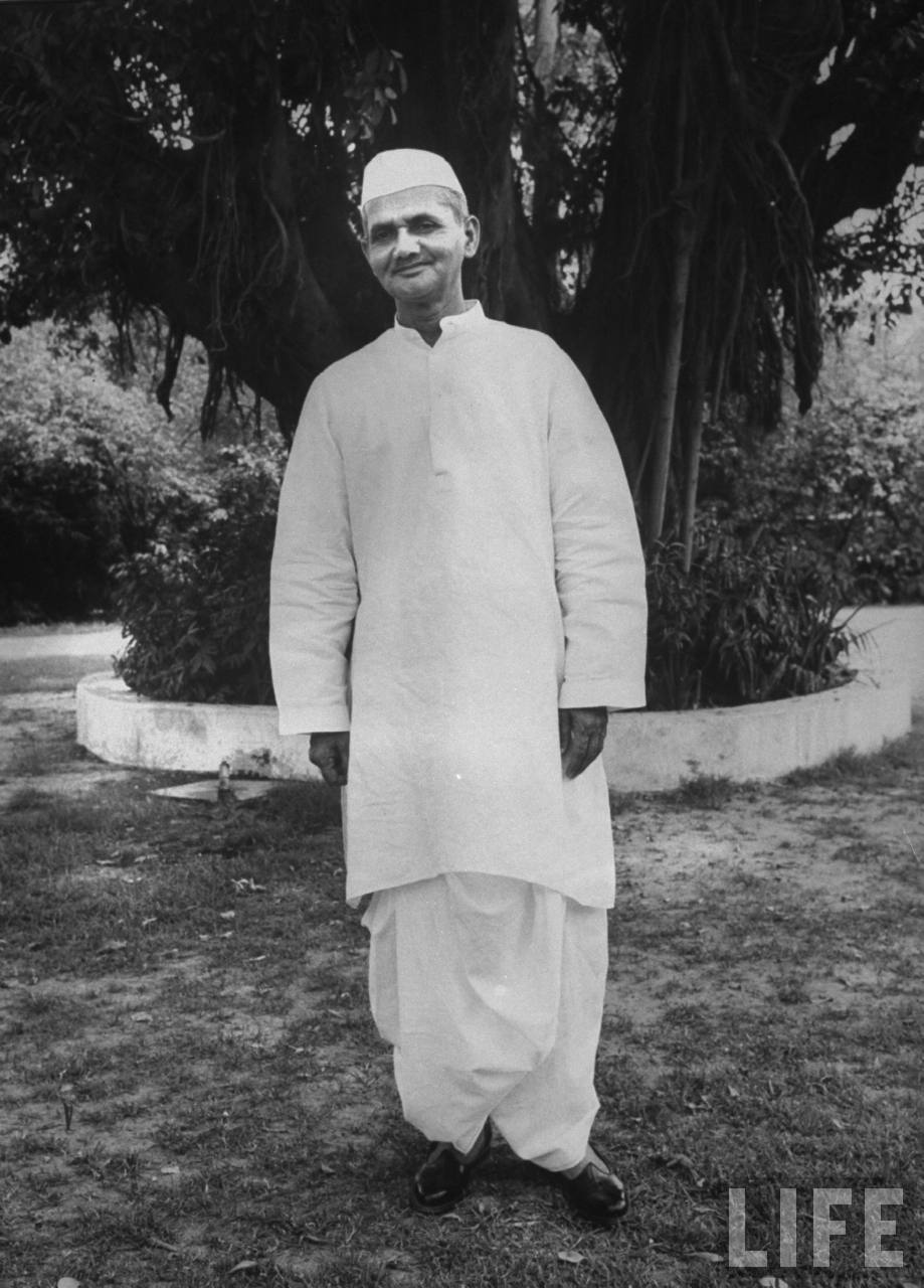 Lal Bahadur Shastri - Second Prime Minister of India - June 1964