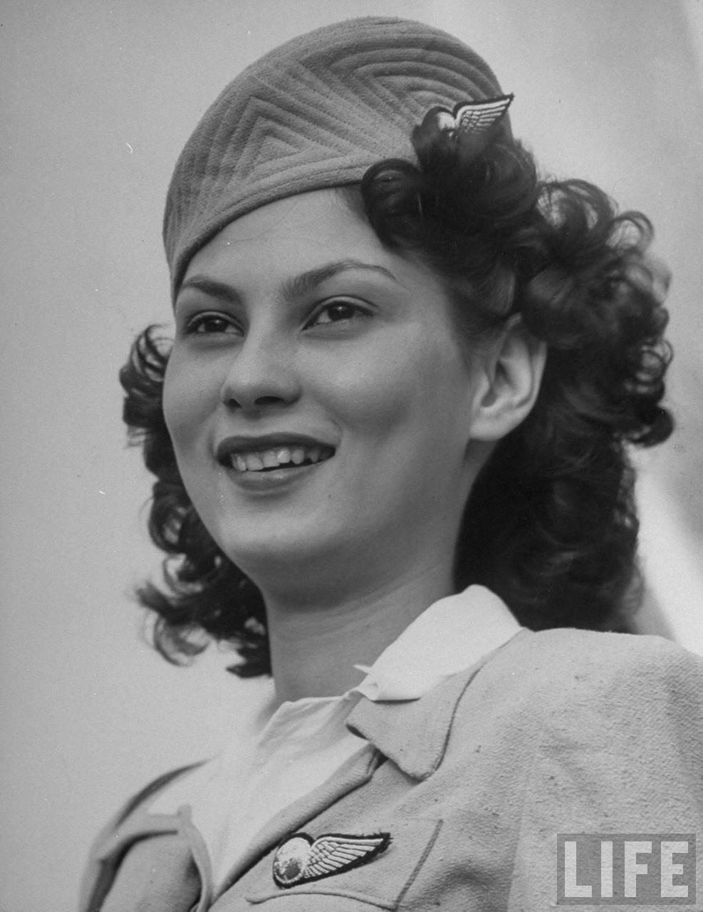 Air India flight attendant Peggy Henderson.