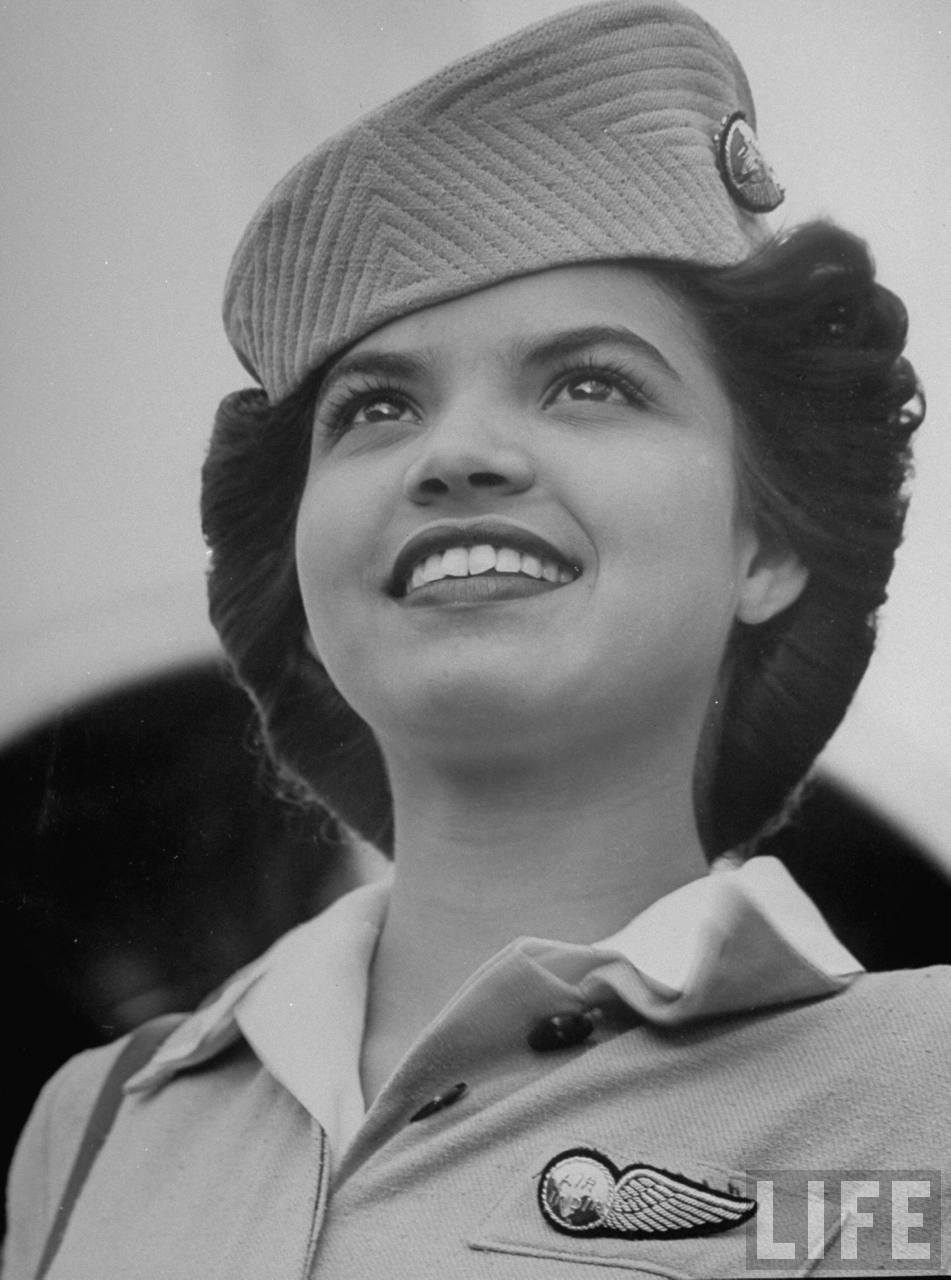Air India flight attendant Monica Fernandez.