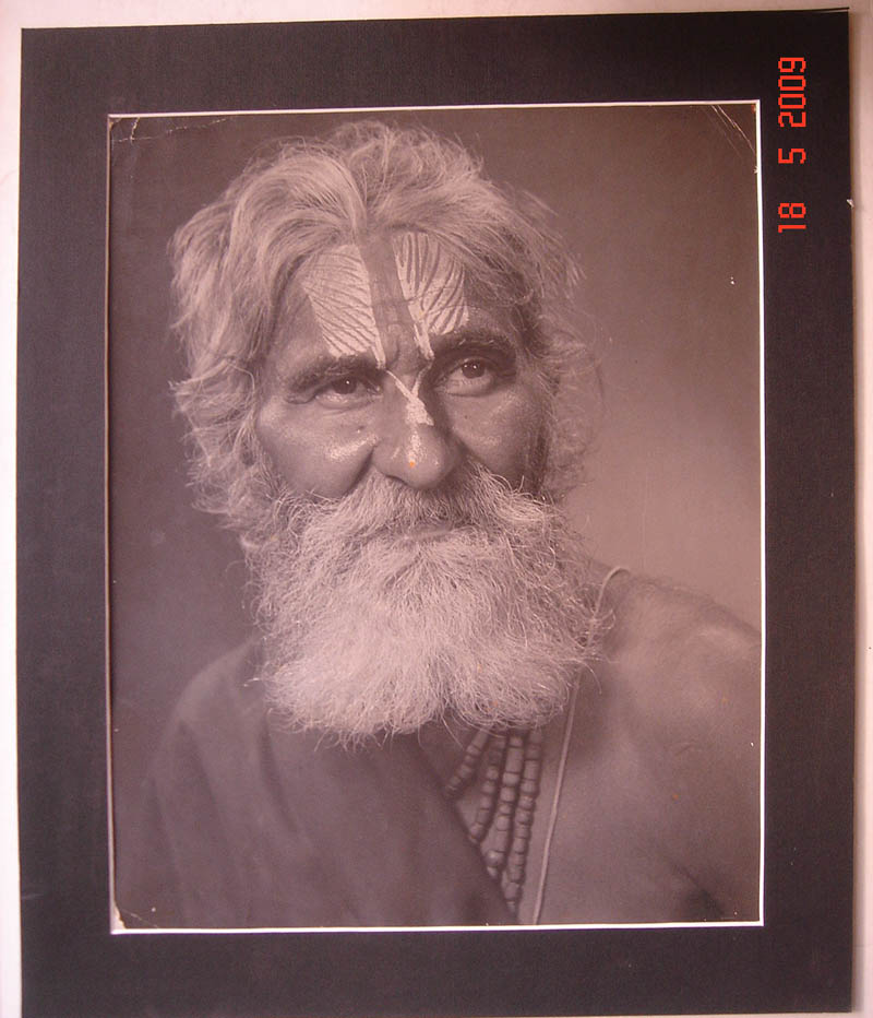 Indian Sadhu Portrait - Date Unknown