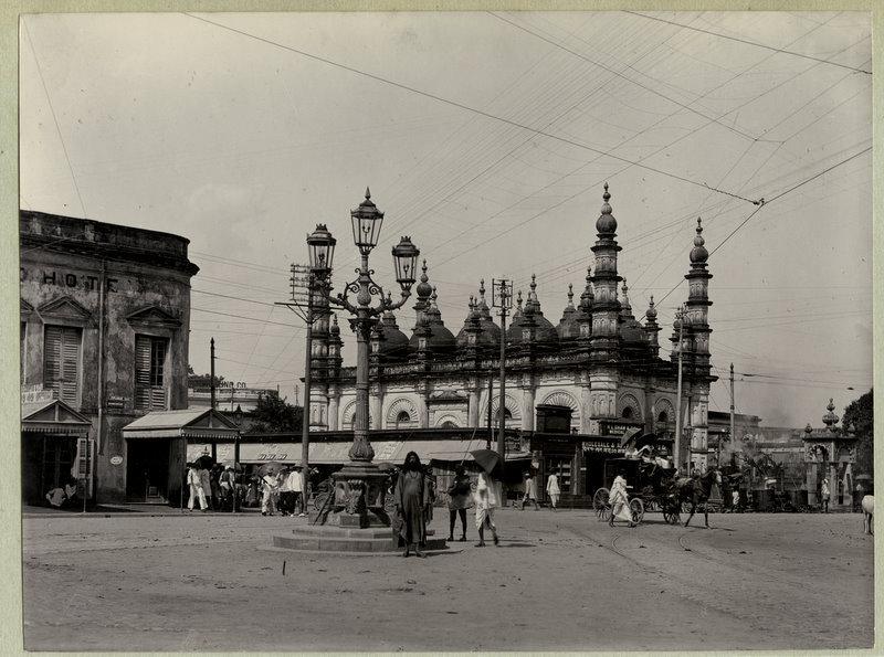 Tipu Sultan Mosque Calcutta (Kolkata) - 1890's