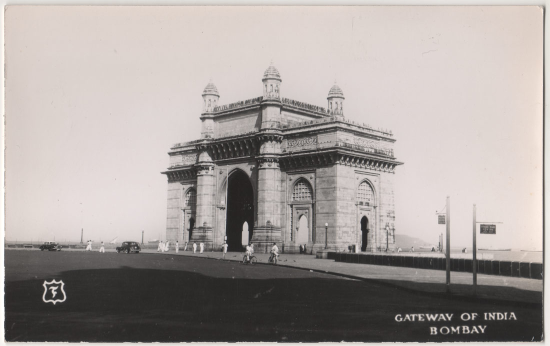 Vintage Postcard of Gateway of India -  Bombay (Mumbai)