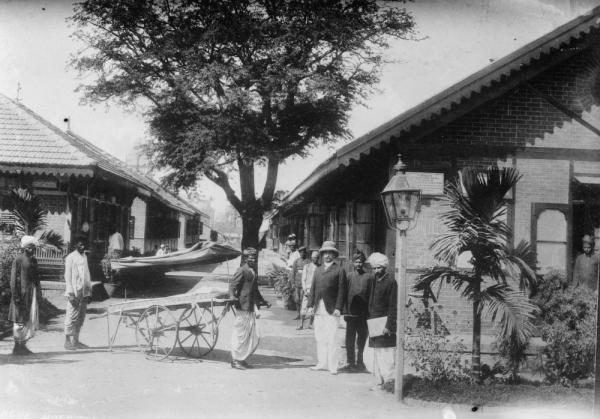 Plague Hospital - Bombay (Mumbai) - 1922