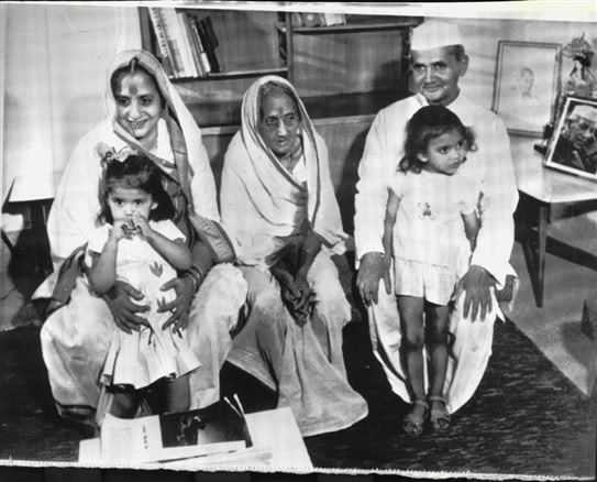 Lal Bahadur Shastri Family Photo - 1964