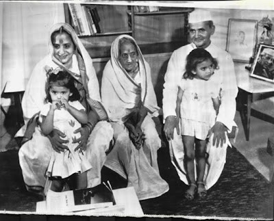 Lal Bahadur Shastri Family Photo - 1964