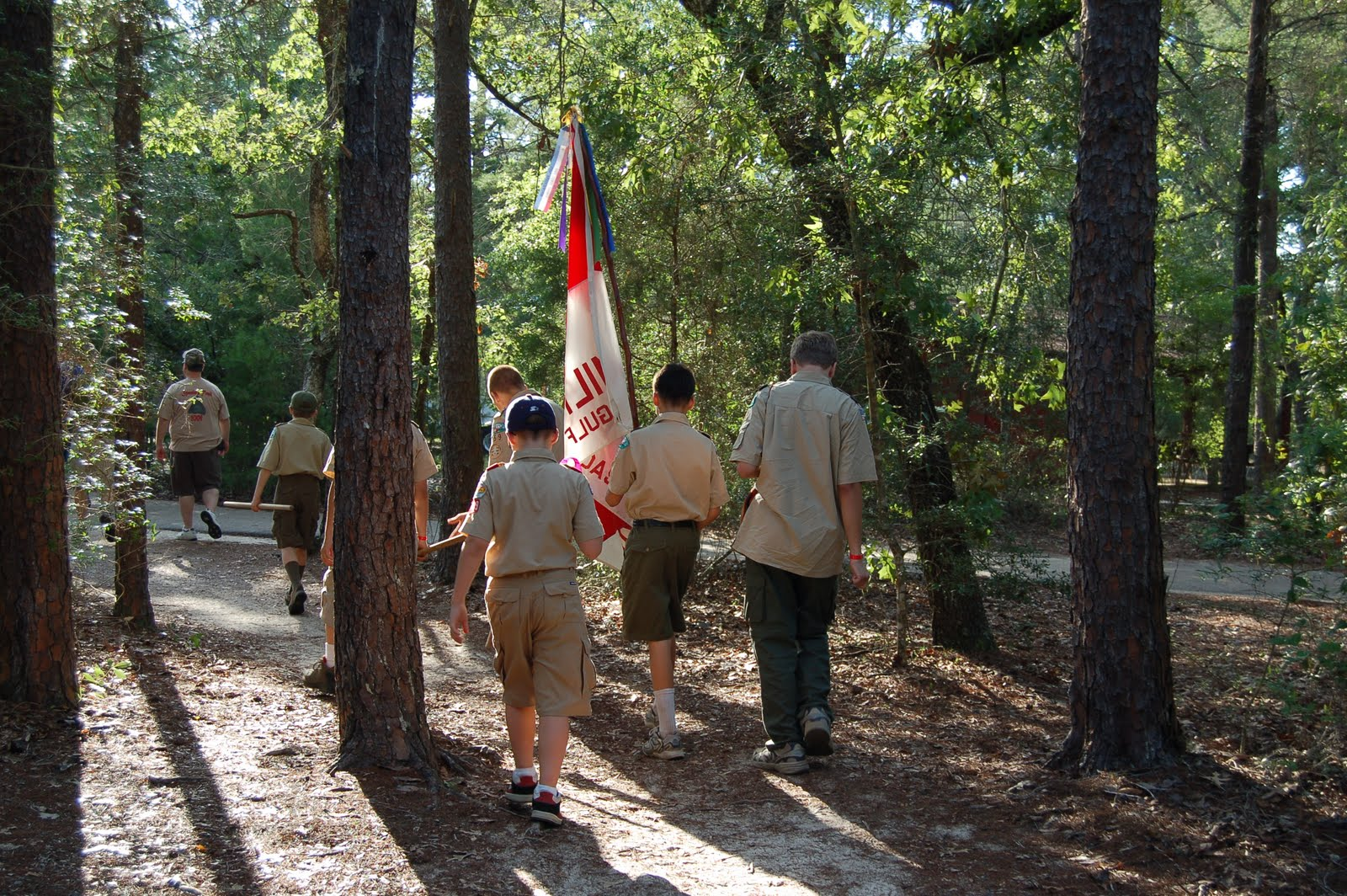 The Rondeau Family Boy Scout Camp