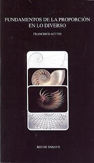 """Decálogo para """"Fundamentos de la proporción en lo diverso"""", Francisco Acuyo"""