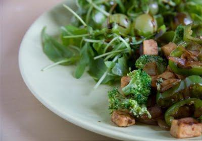 recette verte vegan