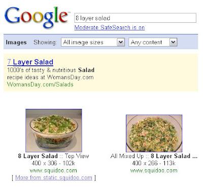 google image search 8 layer salad