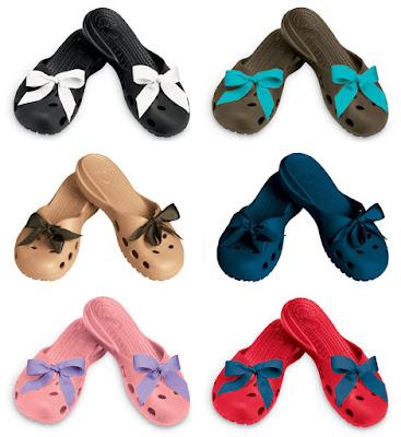 Crocs Audrey -- shoes with bows