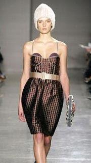 Proenza Schouler Bustier Corset Runway Dress