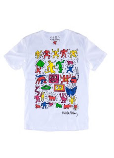 252370eb Zara Man celebrates Keith Haring this season featuring the legendary pop/  graffiti artists work on a six piece collection of t-shirts and sweat shirts .