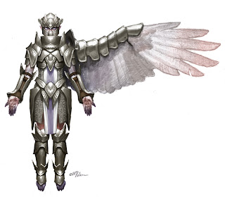 angel armor thick mixture