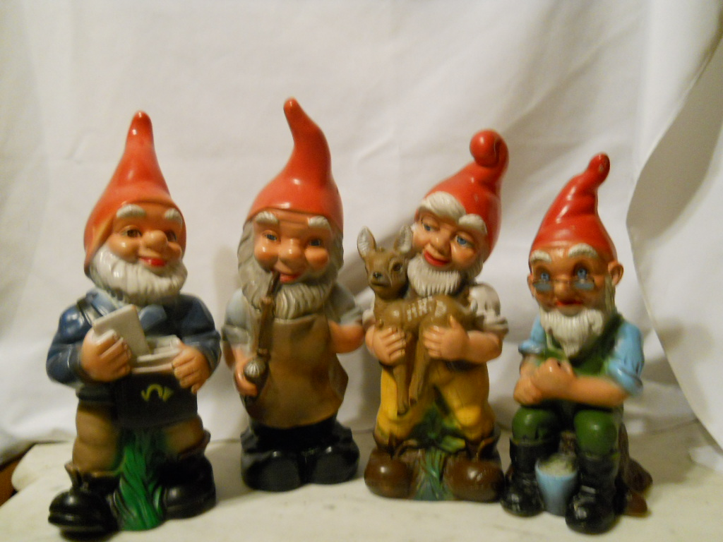 Garden Gnomes On Sale: Life In Gingerbread Town: I Have An Affinity For Gnomes
