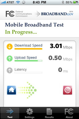 Download FCC Mobile Broadband Test za iPhone