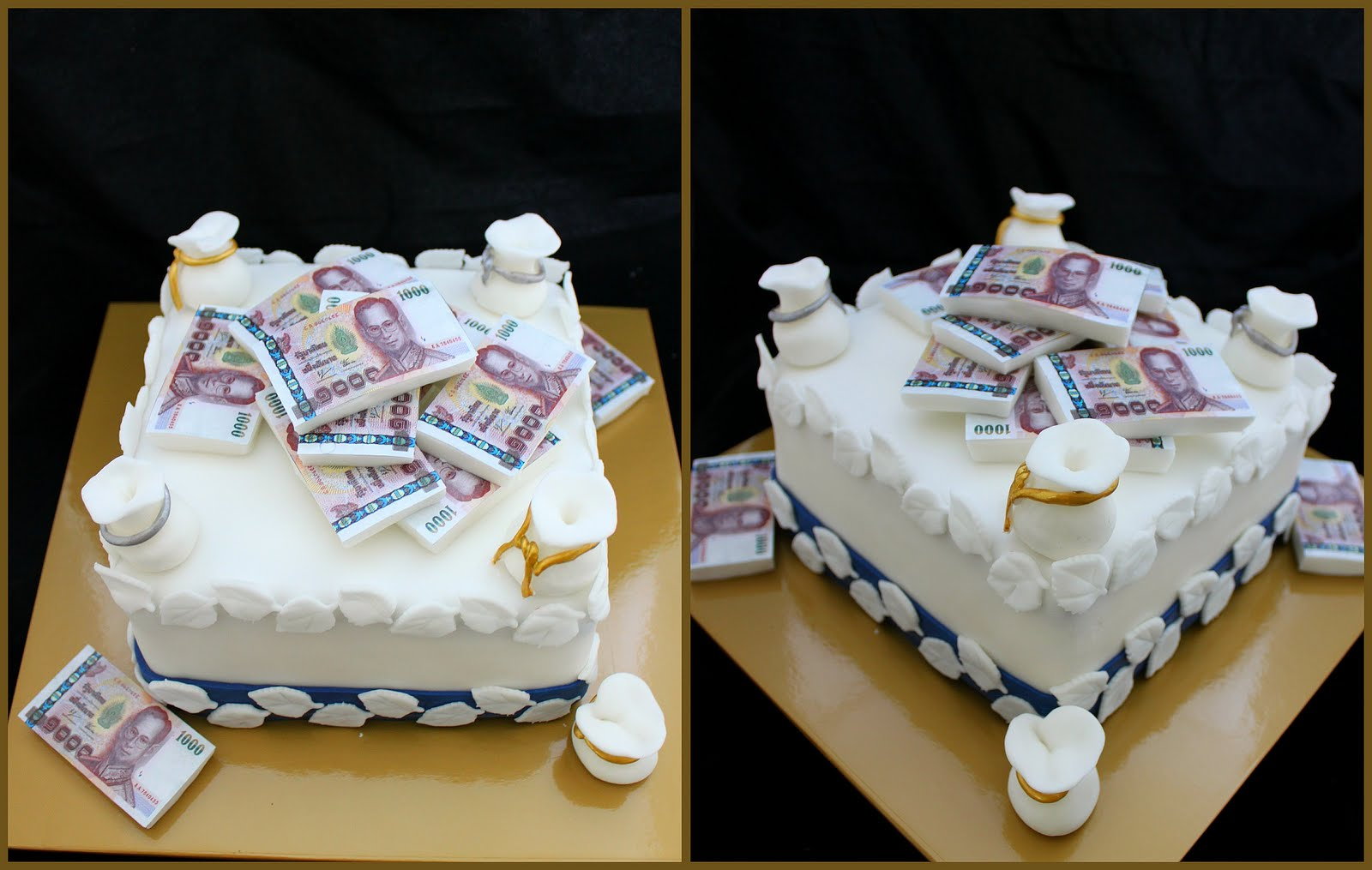 Finish Me Cupcakes The Wealthy Money Cake