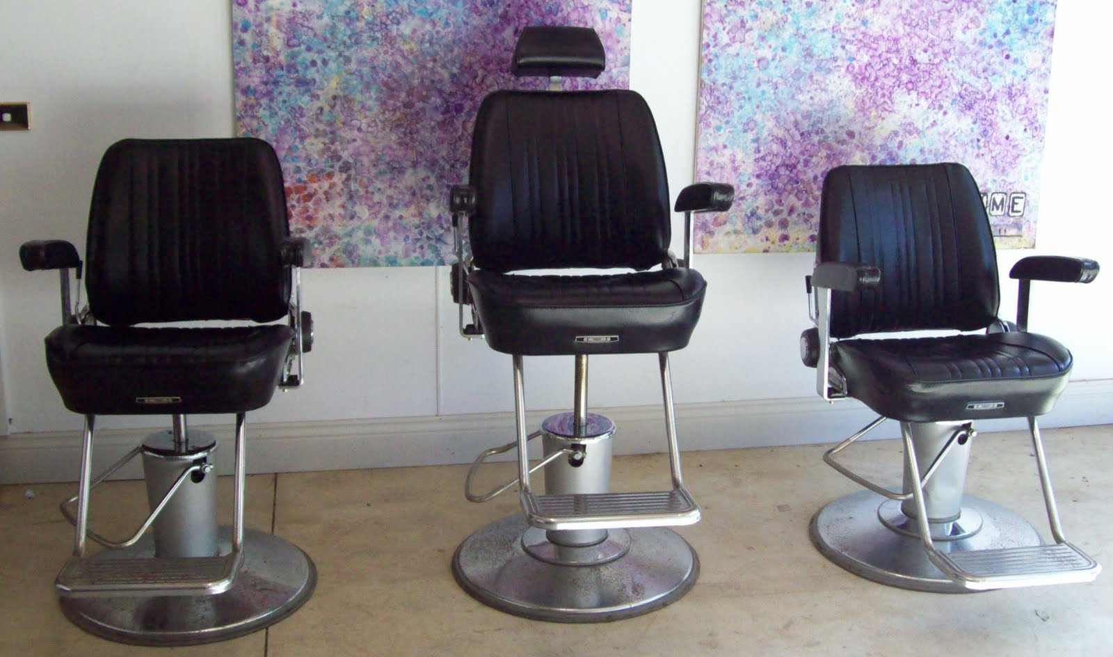 Old School Barber Chair Folding Camp Parts Vintage And Retro Things 43 More For Sale Chairs
