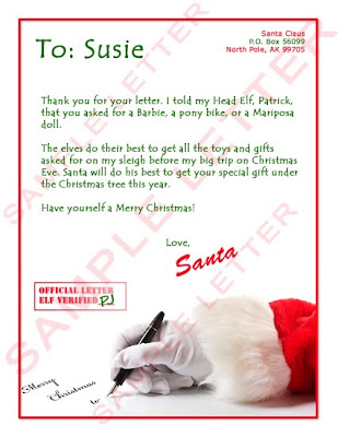 how to write a letter to santa claus examples of thesis