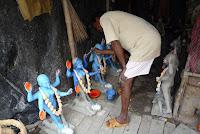 Grande fête de Kalhi : préparatifs à Calcutta 1