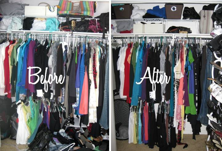 How To Keep Closet Organized House Beautiful