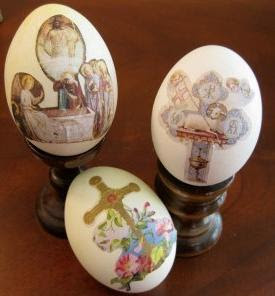 Religious Easter Eggs