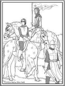 St Joan Of Arc Coloring Page