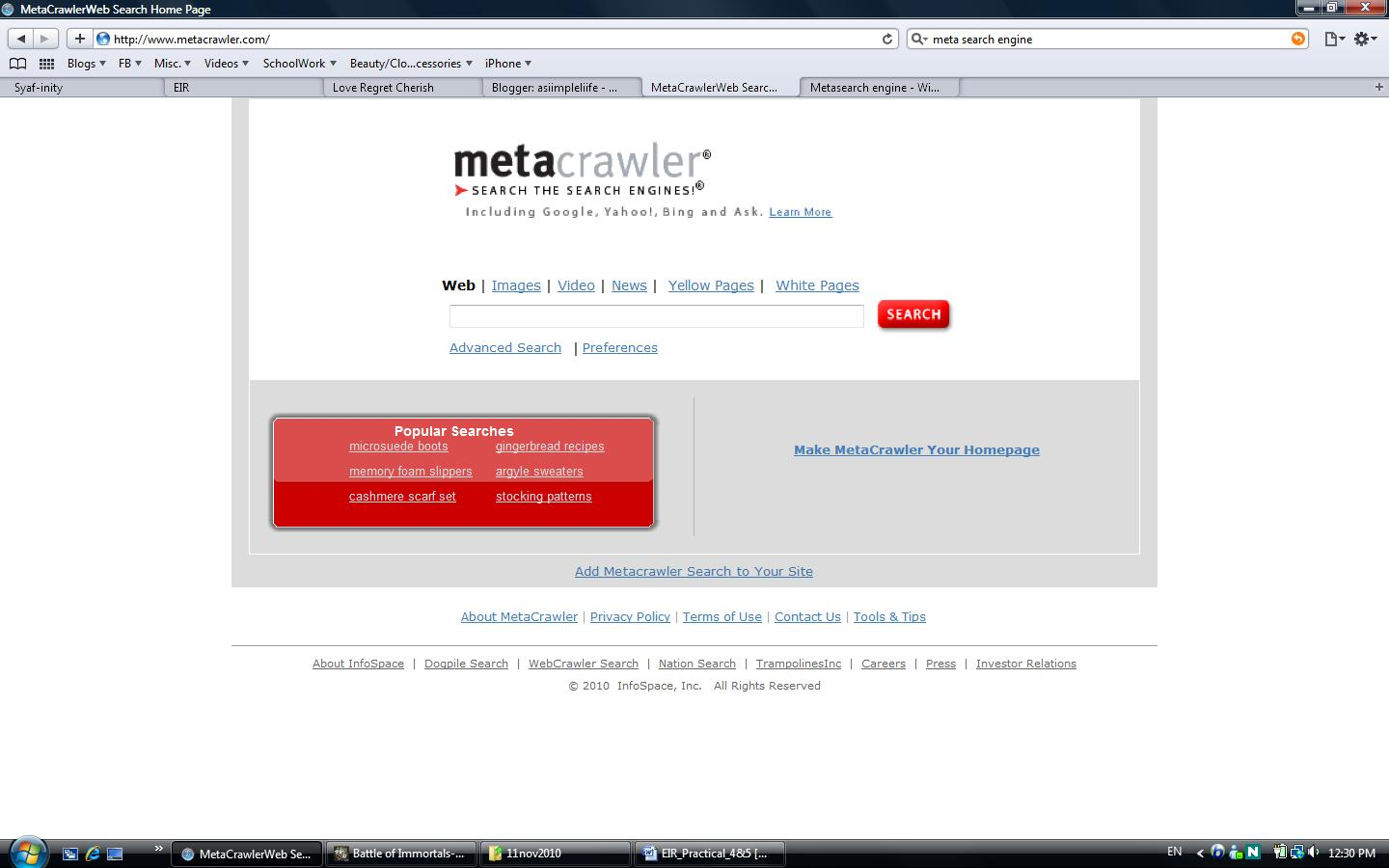 List Of Top Metasearch Engines