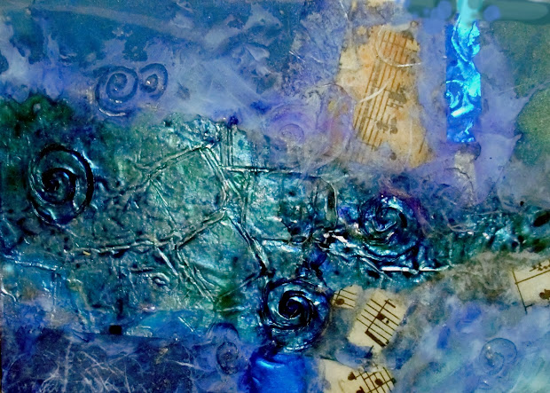 Color Art Abstract Blues