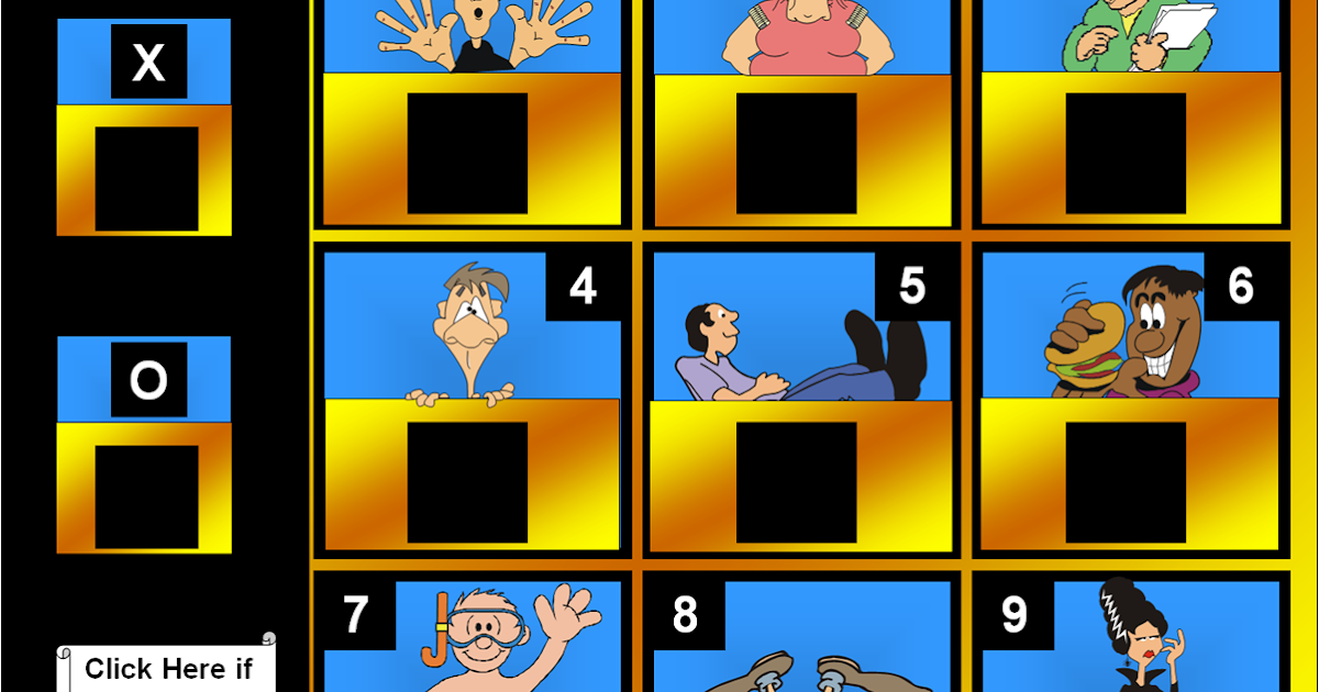 Hollywood Squares Powerpoint Template
