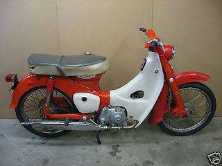 The Honda Super Cub: Latest Project - 1965 CA100