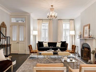 Katie Lee S Manhattan Townhouse Designed By Nate Berkus Is Now For The Listing And More Fantastic Images Click Here