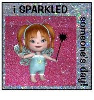 A Glittery Fairy From Barb!