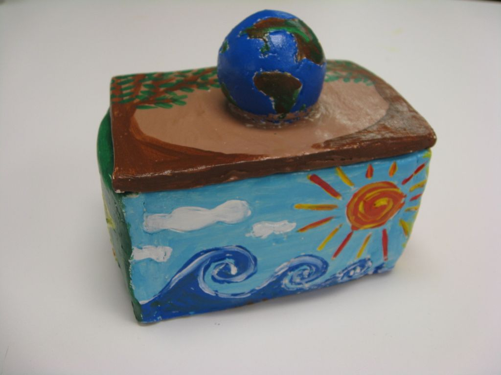 Art With Mrs Smith Me Clay Boxes