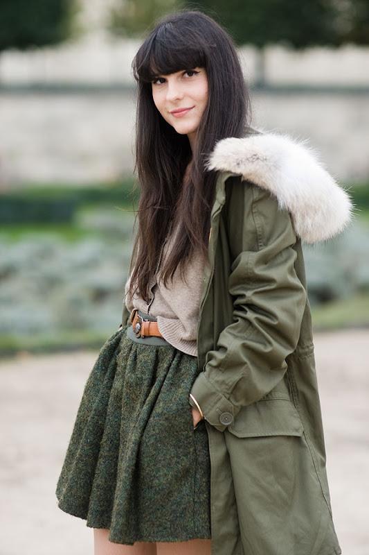 зимняя парка женская - Выкройки одежды для детей и взрослых.