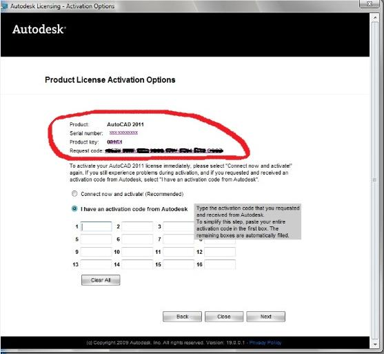 Activate Autodesk Bugged Products