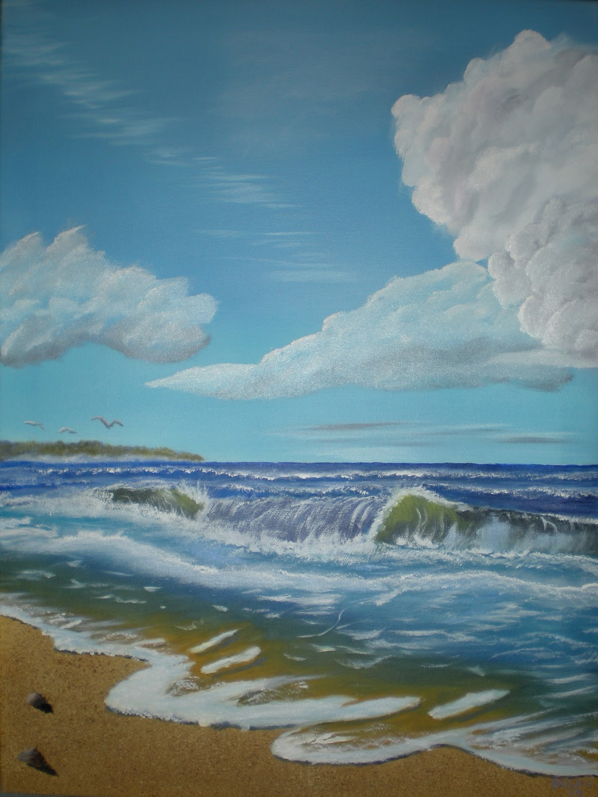 Tom Belau Paintings: Seascapes