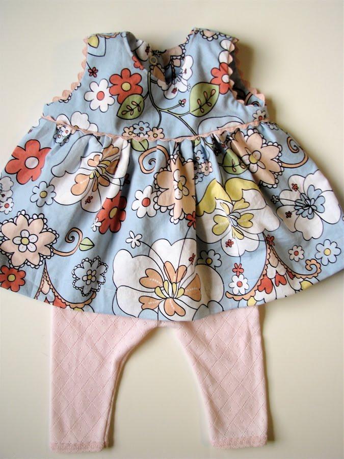 Ric Rac Baby Dress Made By Rae