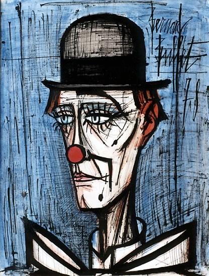 Mouvement Introductif Bernard Buffet With Clown