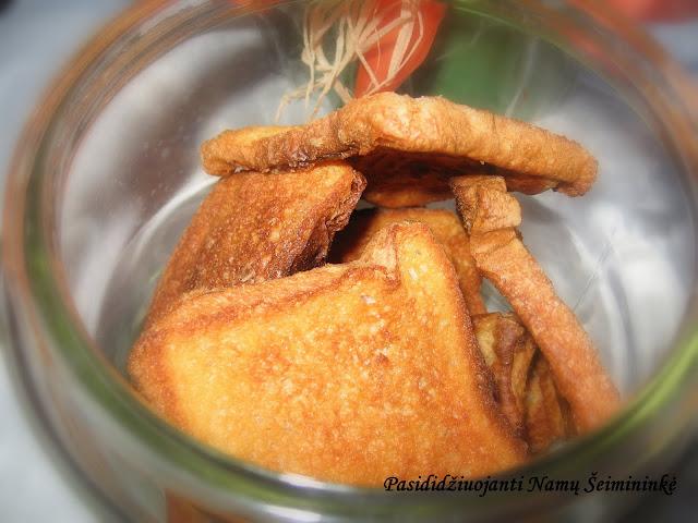Naminiai džiuvėsėliai - receptas