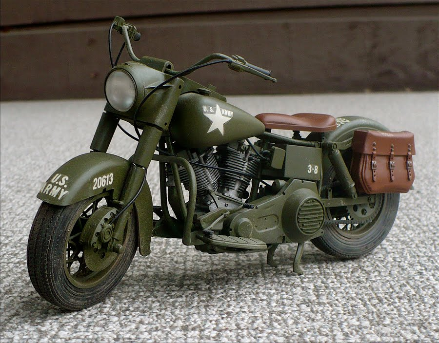 army motorcycle 1980 military flh motorcycles harley canadian davidson models web kits sidecar imex 1942 mounted gun machine bmw