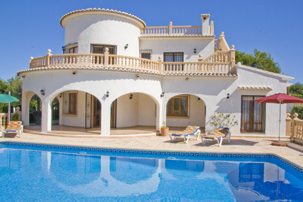 Location Villa Costa Blanca Javea